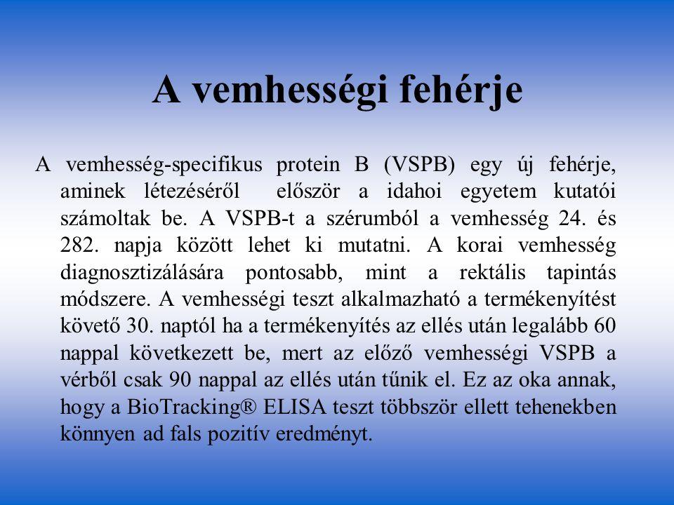 A vemhességi fehérje A vemhesség-specifikus protein B (VSPB) egy új fehérje, aminek létezéséről először a idahoi egyetem kutatói számoltak be. A VSPB-