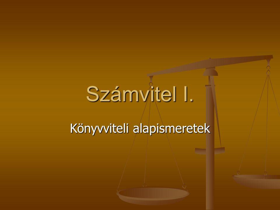 6.Számviteli törvény VI.