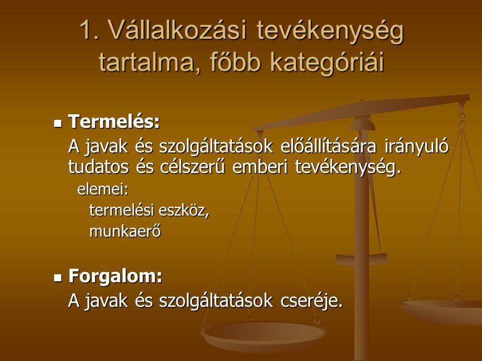 3.Az EREDMÉNYKIMUTATÁS kategóriái és annak tartalma C.