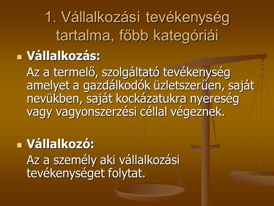 6.Számviteli törvény II. Kiegészítő alapelvek: 6.