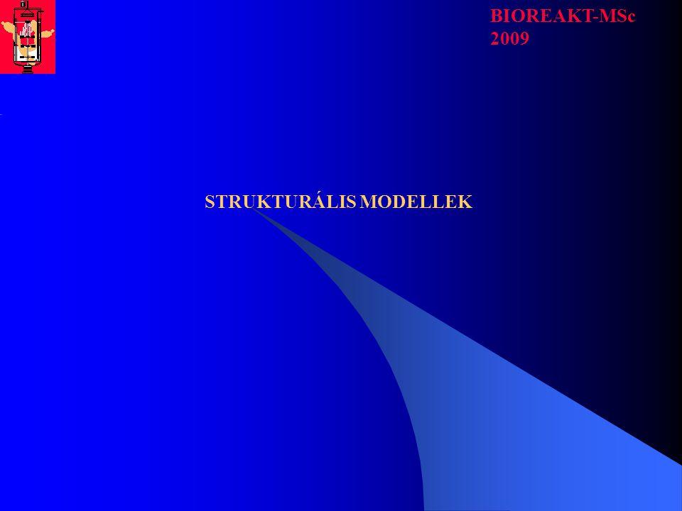 STRUKTURÁLIS MODELLEK BIOREAKT-MSc 2009