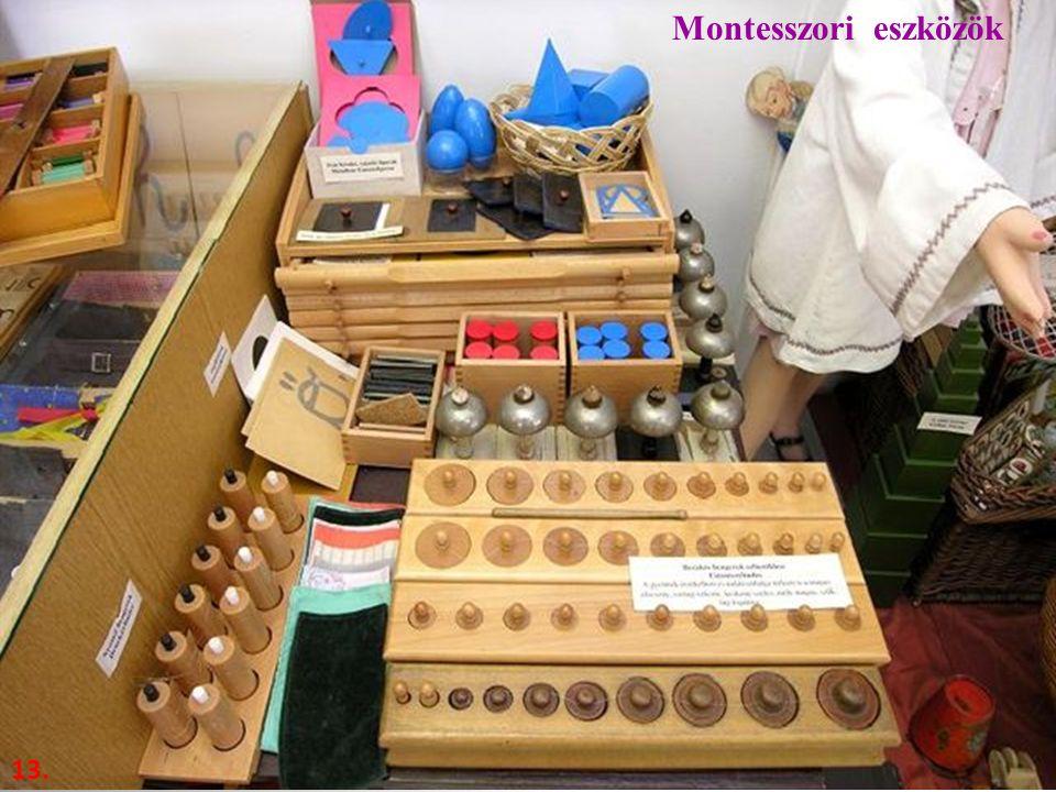 13. Montesszori eszközök