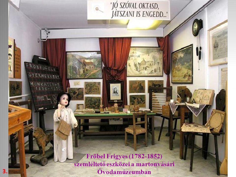 Fröbel Frigyes (1782-1852) szemléltető eszközei a martonvásári Óvodamúzeumban 3.