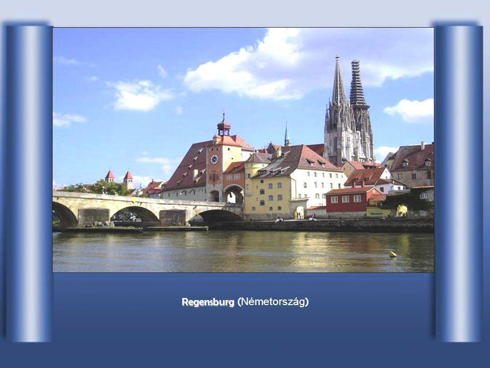Szűkület I II Ingolstadt –nál ( Németország )
