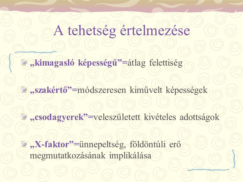 Tehetséghidak A tehetség társadalmi hasznosulása Magyarország felzárkózásának egyik kulcskérdése Dr.
