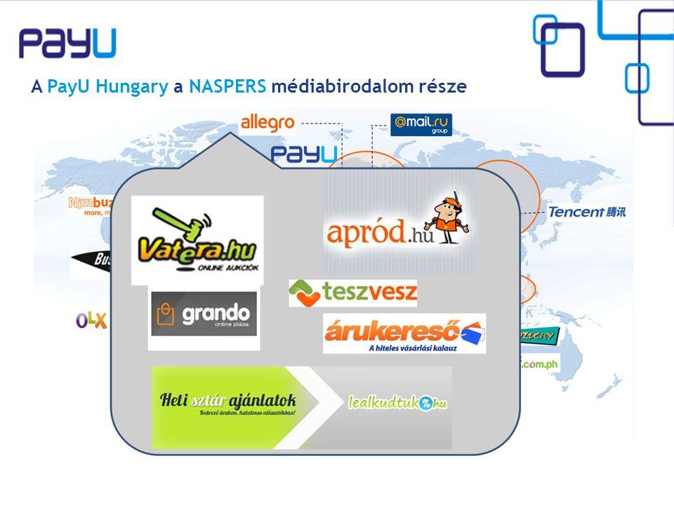 A PayU Hungary a NASPERS médiabirodalom része