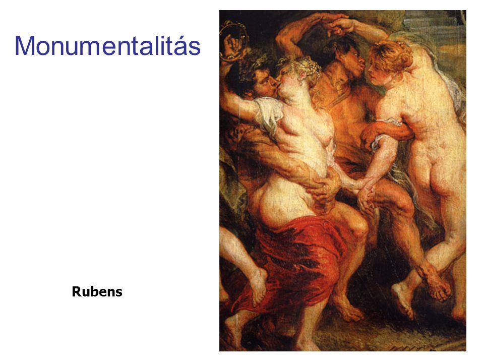 Monumentalitás Rubens
