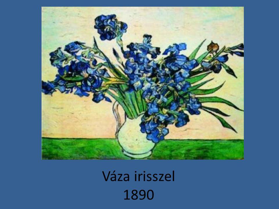 Váza irisszel 1890