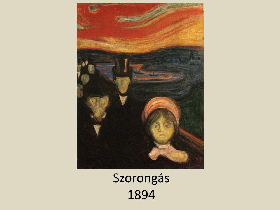 Szorongás 1894