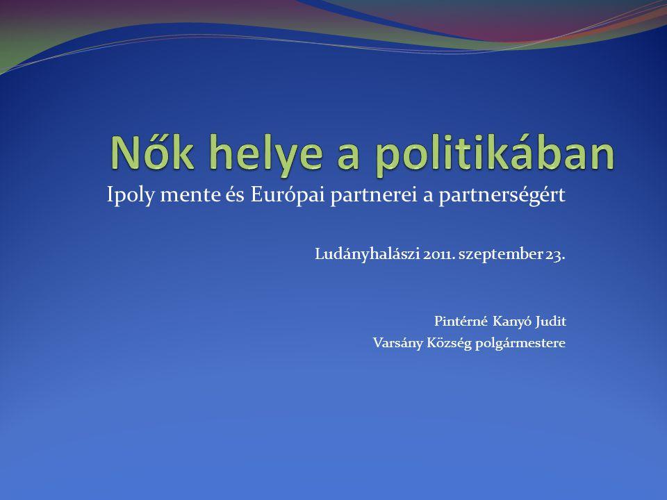 Ipoly mente és Európai partnerei a partnerségért Ludányhalászi 2011.