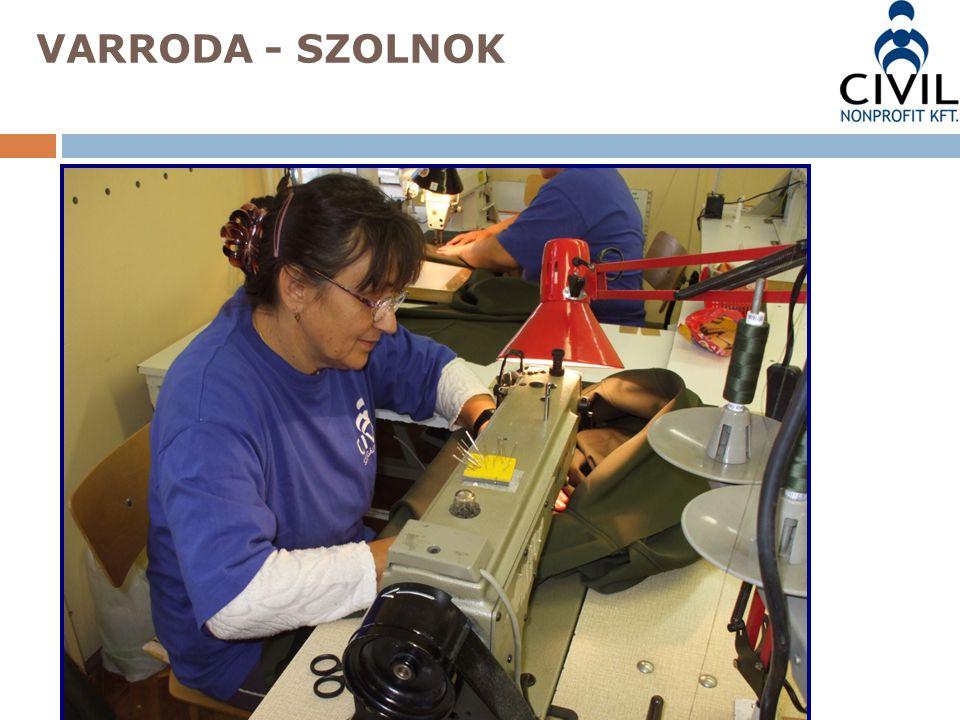 VARRODA - SZOLNOK