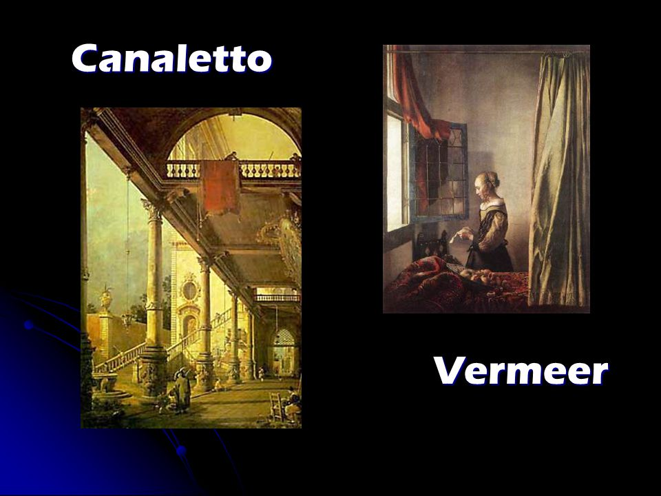Canaletto Canaletto Vermeer