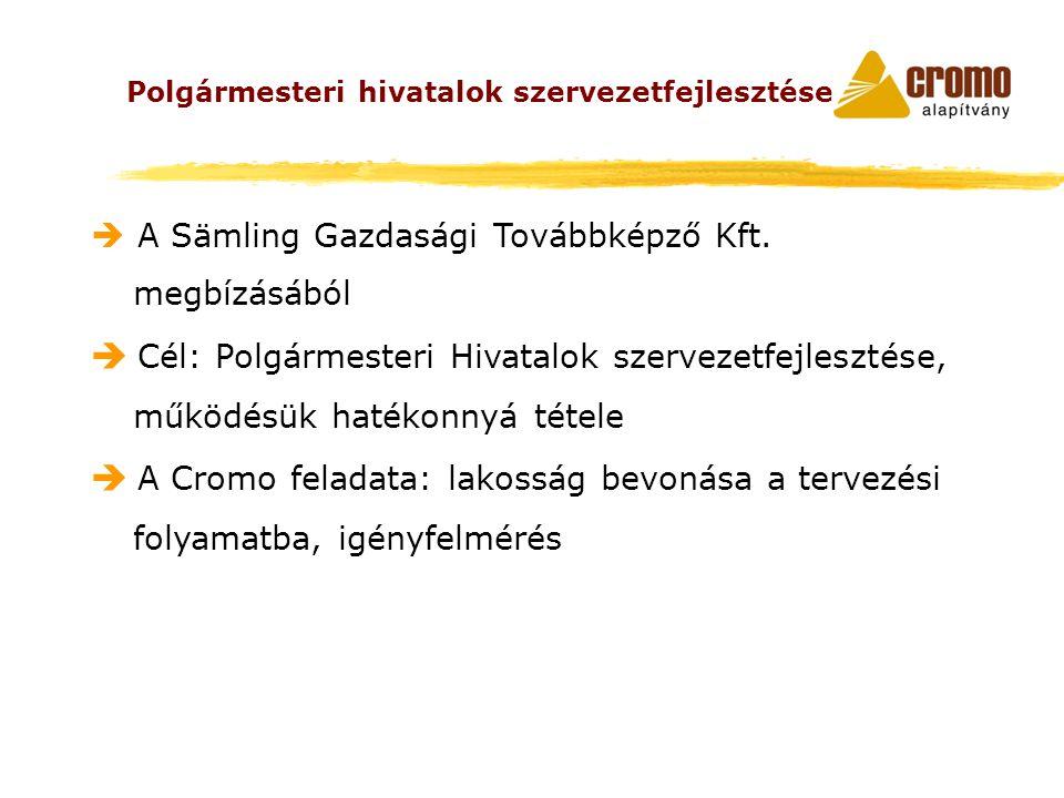  A Sämling Gazdasági Továbbképző Kft.