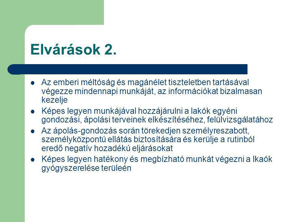 Elvárások 2.