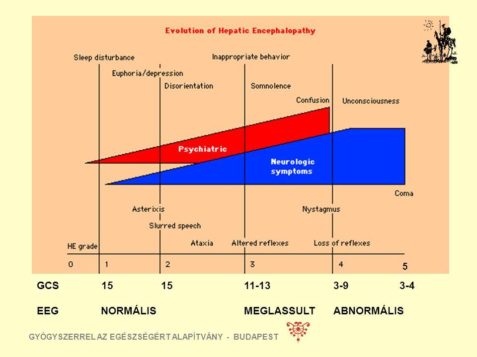GYÓGYSZERREL AZ EGÉSZSÉGÉRT ALAPÍTVÁNY - BUDAPEST HEPATICUS ENCEPHALOPATHIA BENZODIAZEPIN ETHANOL HÁNYÁSCSILLAPITÓK ANTIHYSTAMINOK EGYÉB PSYCHOACTIV D