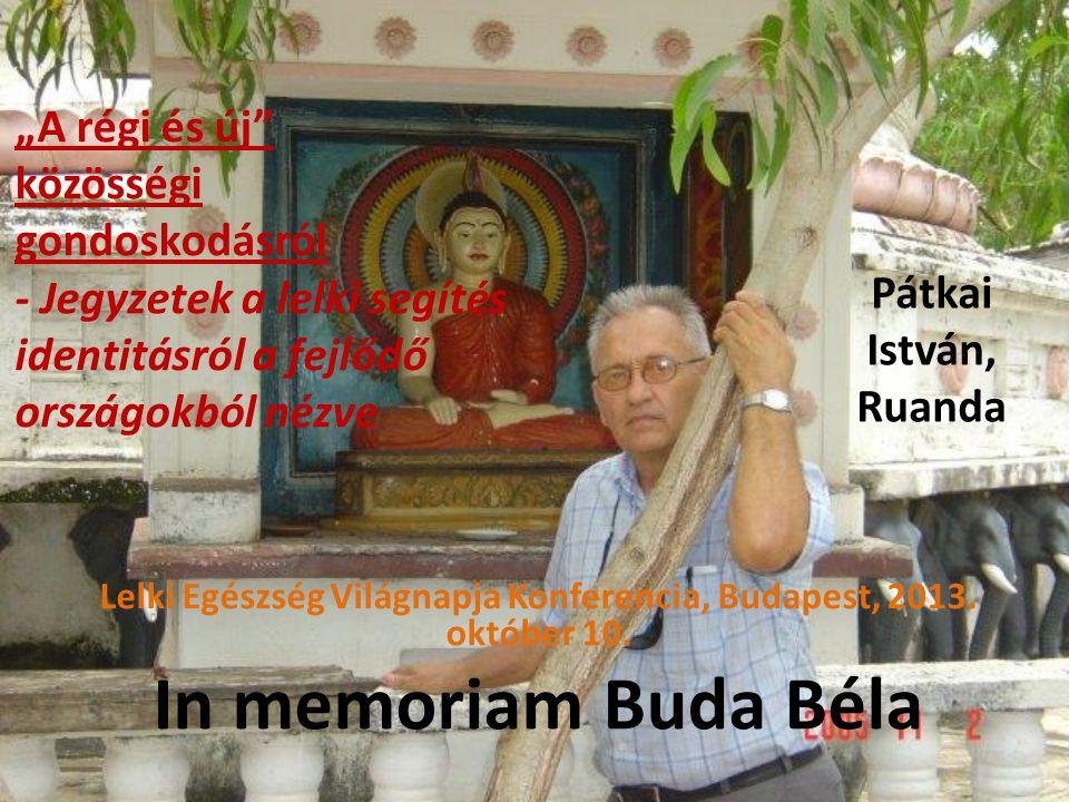 Dr. Pátkai István Köszönjü k a figyelmet