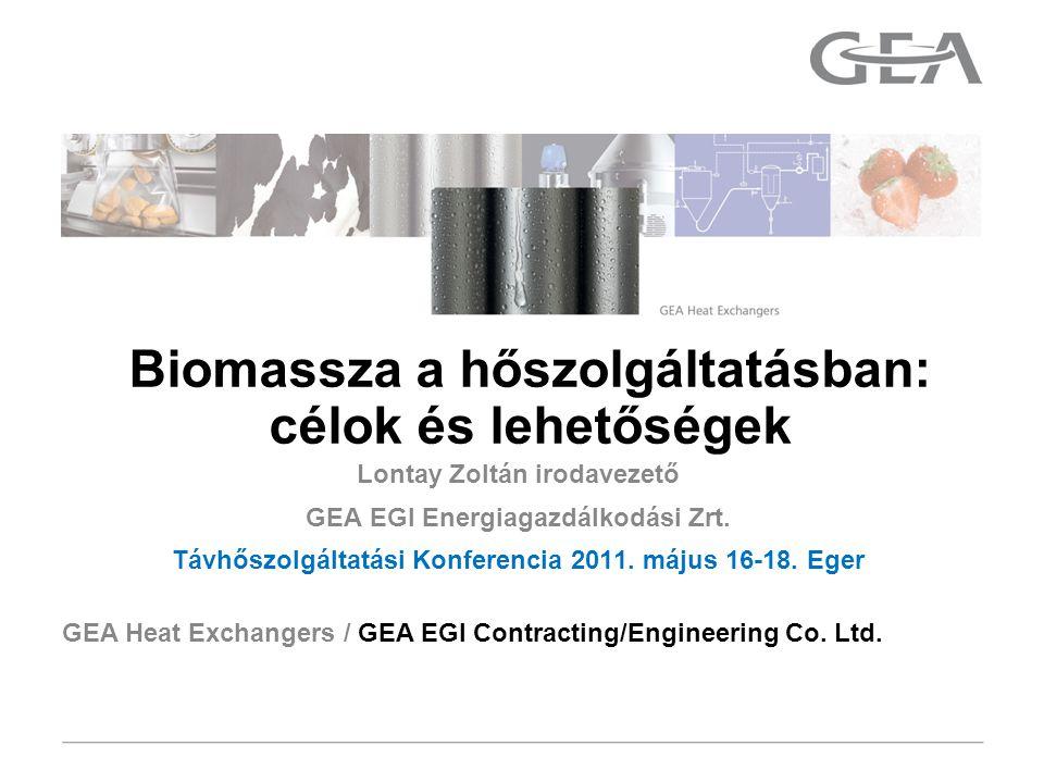 GEA Heat Exchangers 12 Insert text with Insert Header and Footer  Épületkorszerűsítés hatása a fűtési energiaszükségletre: -20%.