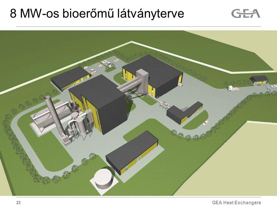 23 8 MW-os bioerőmű látványterve