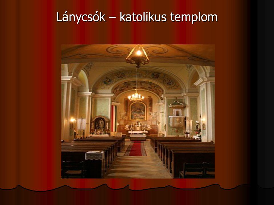 Lánycsók – katolikus templom
