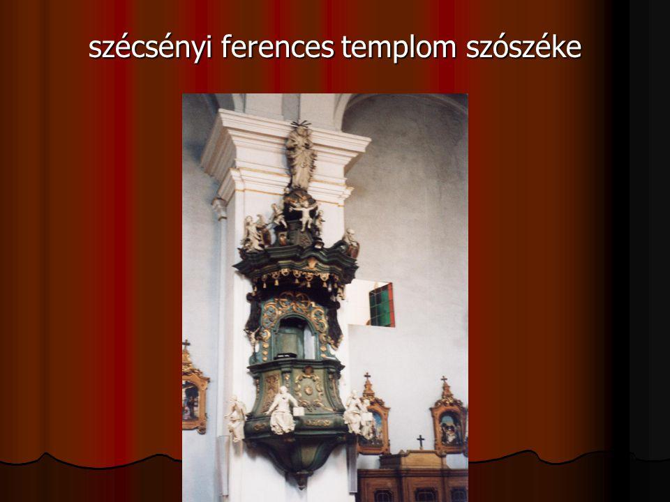 szécsényi ferences templom szószéke