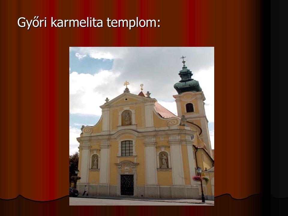 Győri karmelita templom: