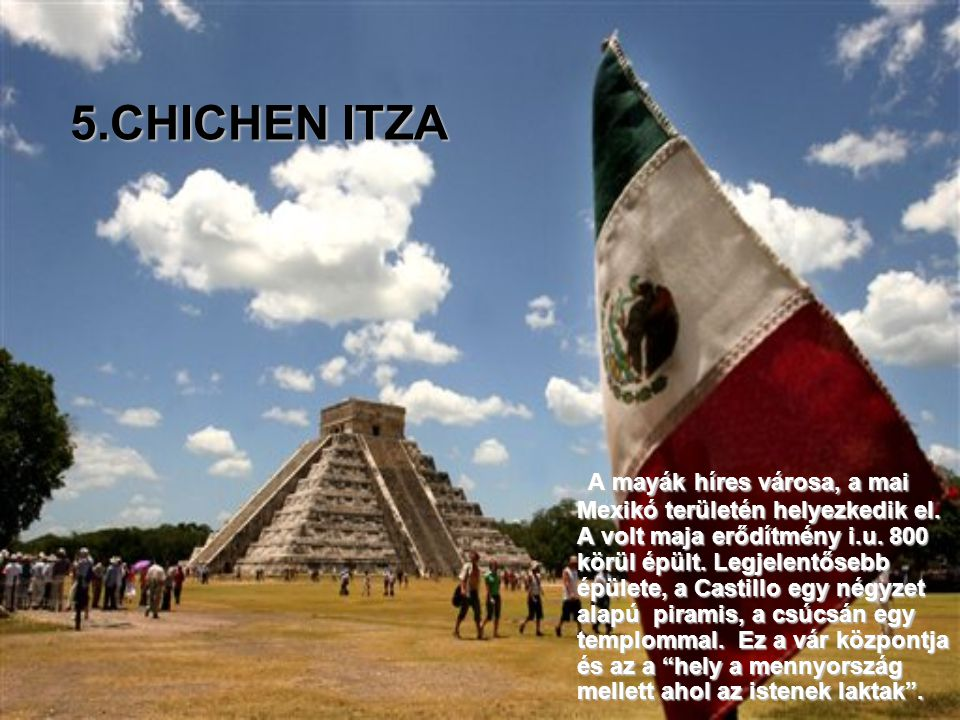 2761 m. magasságban építették, a sok száz kőből készült építményt. A munkálatok az 1400-as évek elején kezdődtek. Kecsua nyelvből lefordítva, a Machu
