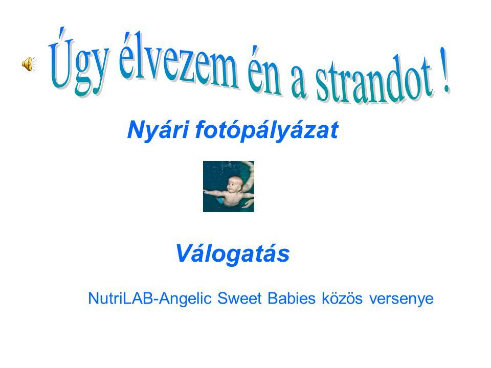 NutriLAB-Angelic Sweet Babies közös versenye Kata