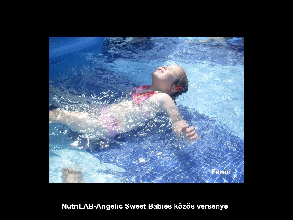 NutriLAB-Angelic Sweet Babies közös versenye Bence