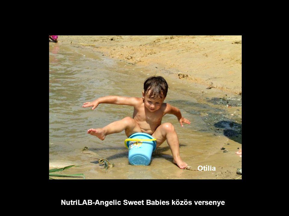NutriLAB-Angelic Sweet Babies közös versenye Sára