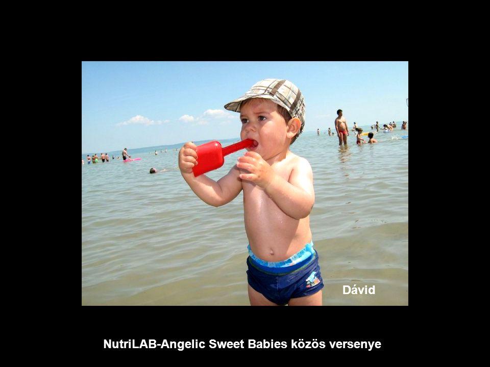 NutriLAB-Angelic Sweet Babies közös versenye Noémi