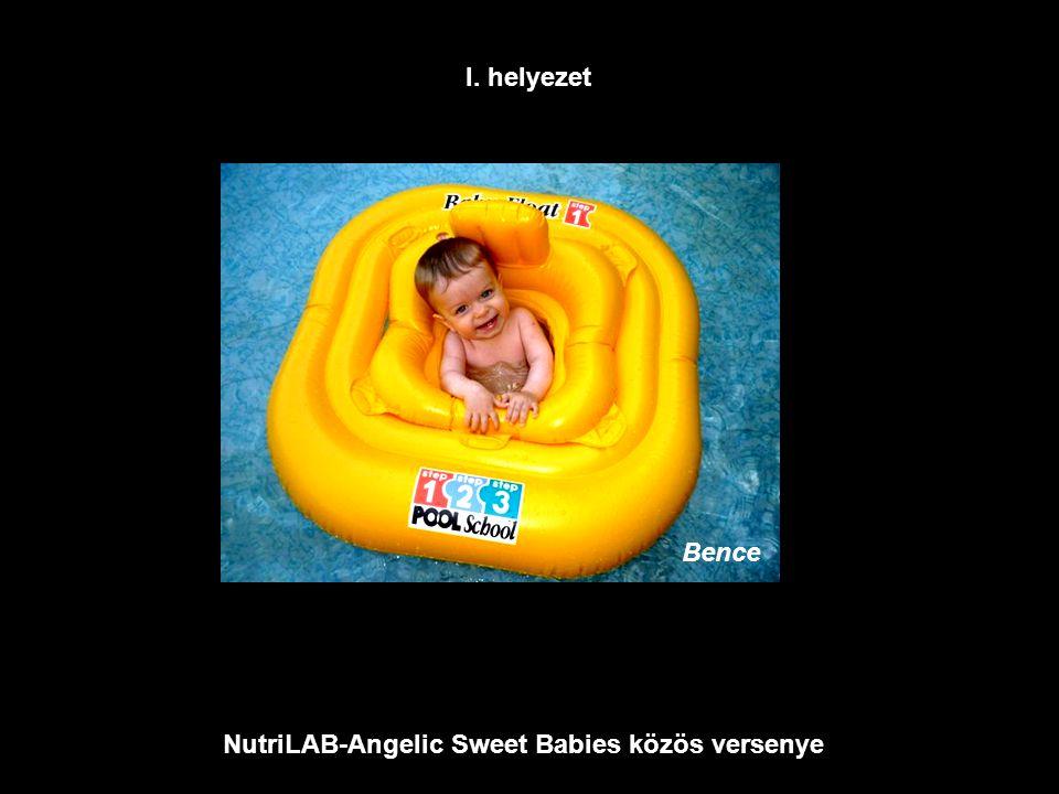 NutriLAB-Angelic Sweet Babies közös versenye Bence I. helyezet