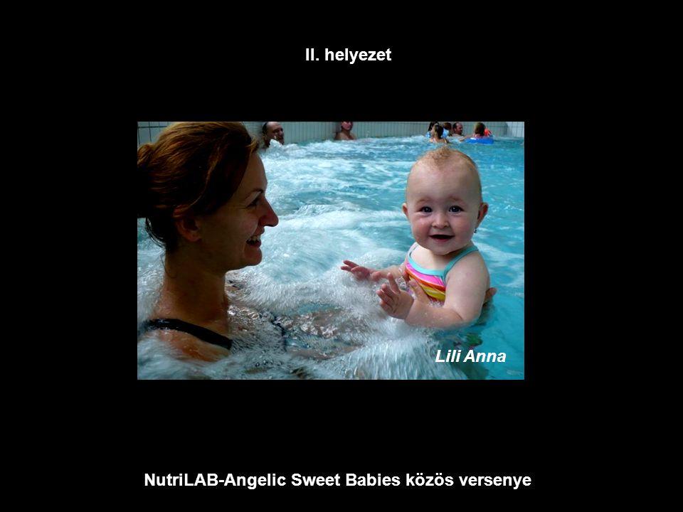 NutriLAB-Angelic Sweet Babies közös versenye Lili Anna II. helyezet
