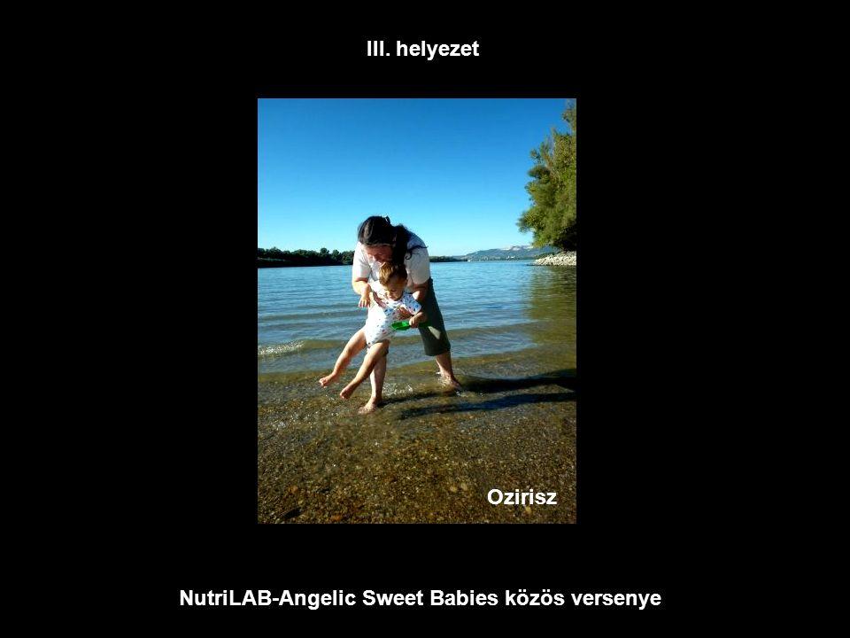 NutriLAB-Angelic Sweet Babies közös versenye Nándor