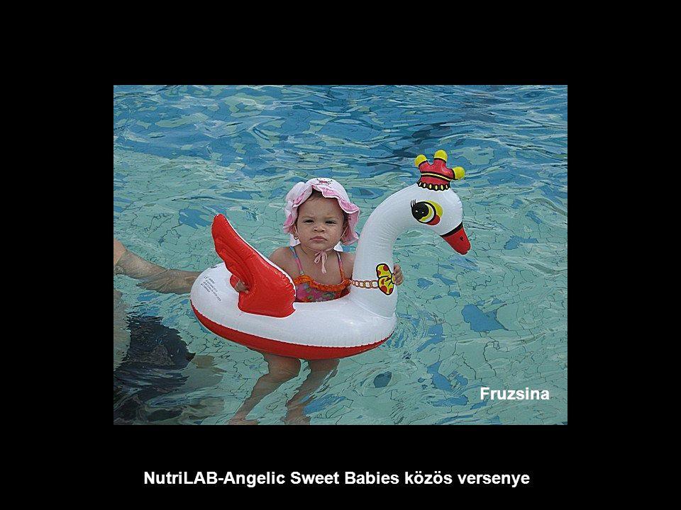 NutriLAB-Angelic Sweet Babies közös versenye Fruzsina