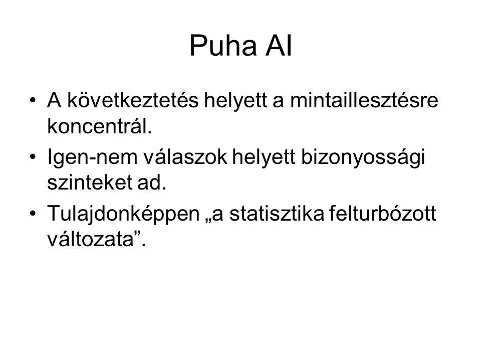 Puha AI A következtetés helyett a mintaillesztésre koncentrál.