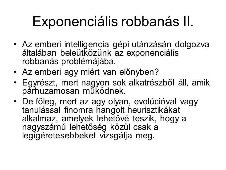 Exponenciális robbanás II.