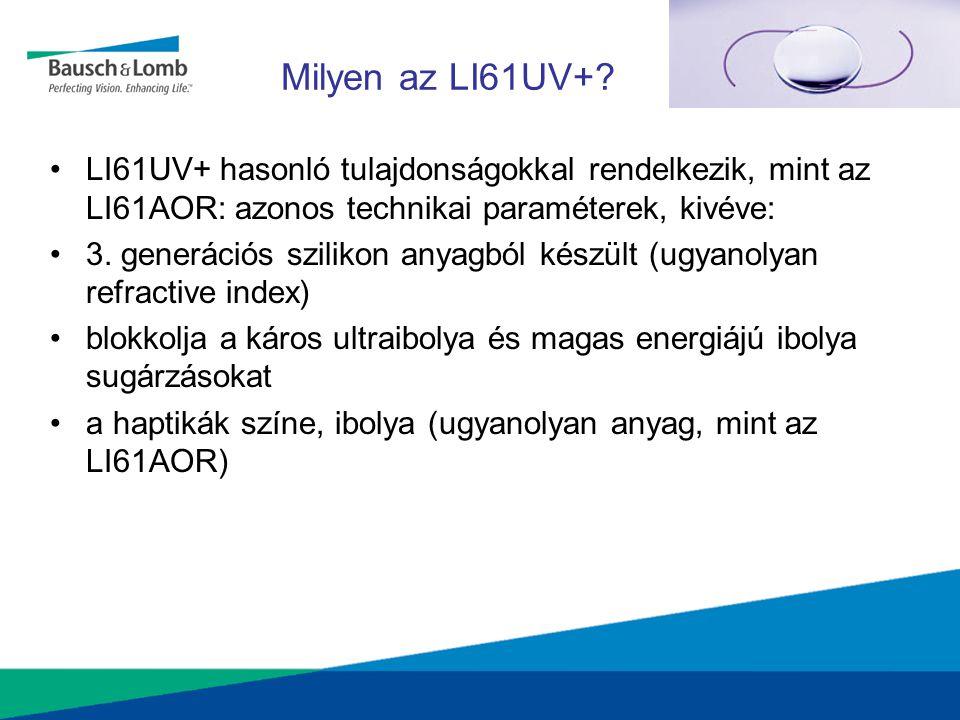 Milyen az LI61UV+? LI61UV+ hasonló tulajdonságokkal rendelkezik, mint az LI61AOR: azonos technikai paraméterek, kivéve: 3. generációs szilikon anyagbó