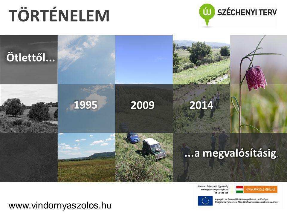 1996: Bányarekultiváció A.Természeti értékek megtartása, védelme B.