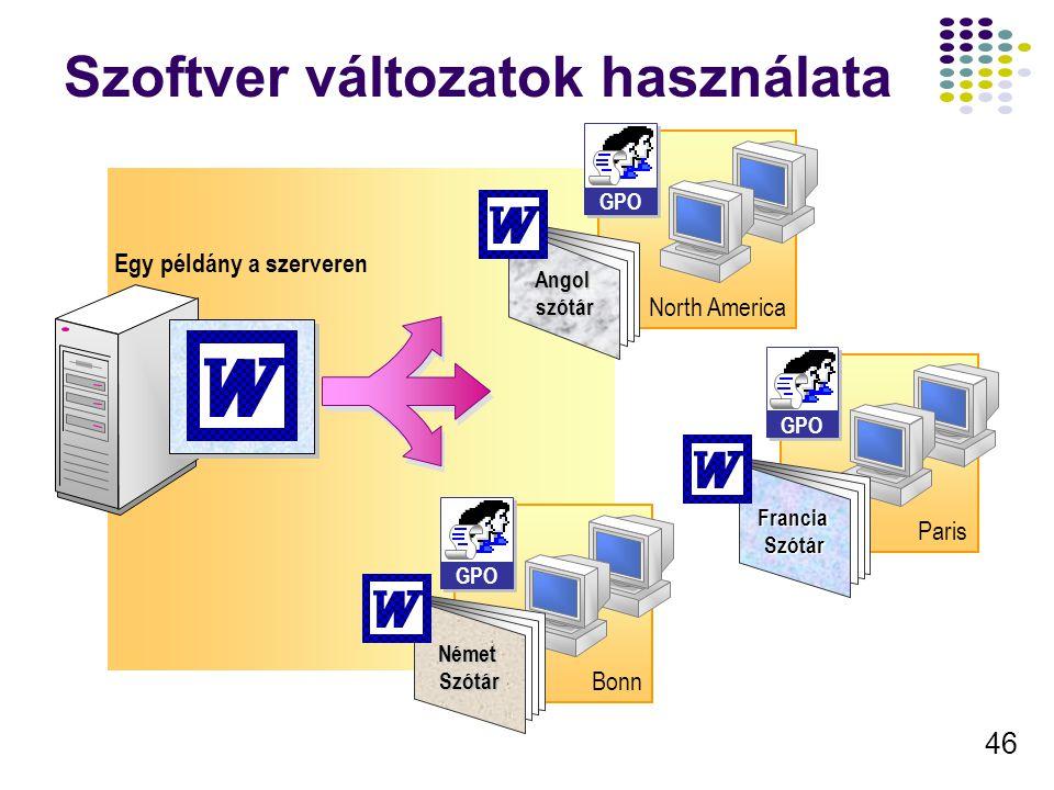 47 Szoftver Kategóriák létrehozása Add/Remove Programs Add Programs from CD-ROM or Floppy To add a new program from a floppy disk or CD-ROM drive, click CD or Floppy.
