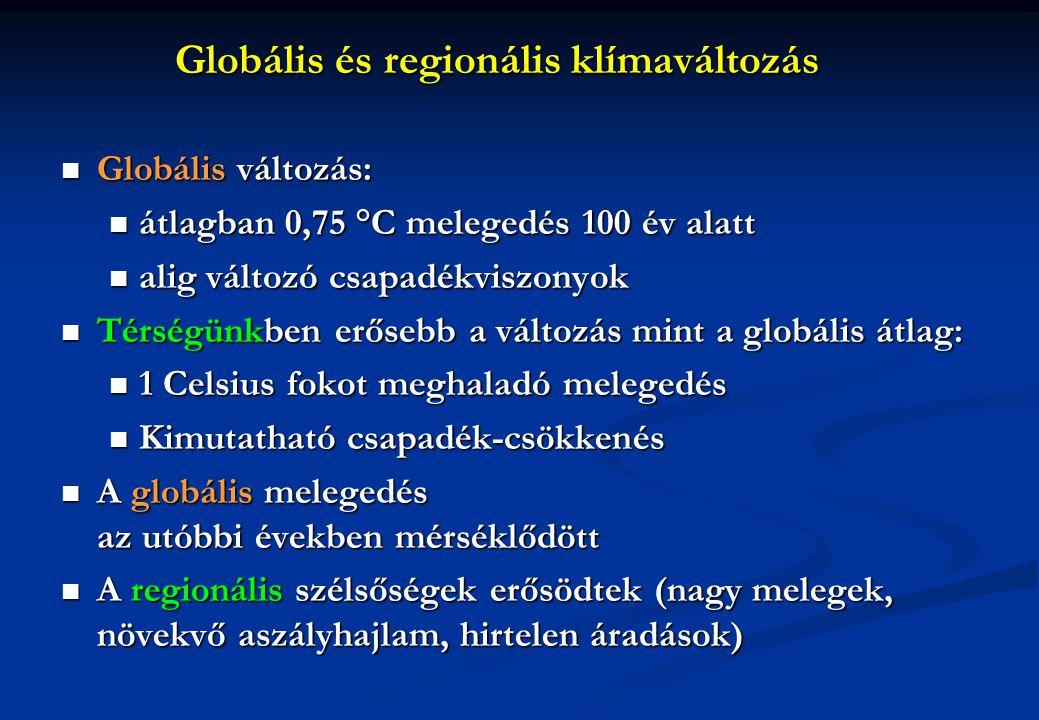 Összefoglaló Adott, de részben általunk is alakítható a nemzetközi és az EU szintű klímapolitikai feltételrendszer Adott, de részben általunk is alakítható a nemzetközi és az EU szintű klímapolitikai feltételrendszer Létezik és működik a hazai törvényi szabályozás (stratégiák, törvények, rendeletek) Létezik és működik a hazai törvényi szabályozás (stratégiák, törvények, rendeletek) Kényszer és érdek egyszerre: új nemzetközi feltételrendszer + hazai szerkezeti reformok Kényszer és érdek egyszerre: új nemzetközi feltételrendszer + hazai szerkezeti reformok Tudományos-technológiai innováció: társadalmi fejlődés, ökológiai stabilitás, gazdasági prosperitás Tudományos-technológiai innováció: társadalmi fejlődés, ökológiai stabilitás, gazdasági prosperitás