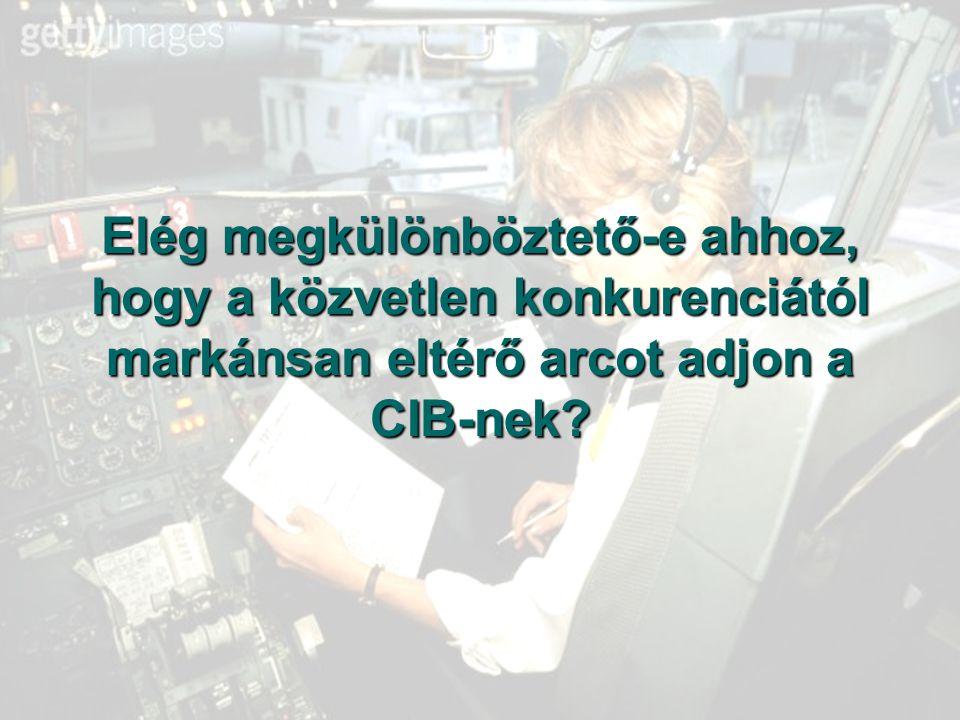 Elég megkülönböztető-e ahhoz, hogy a közvetlen konkurenciától markánsan eltérő arcot adjon a CIB-nek?