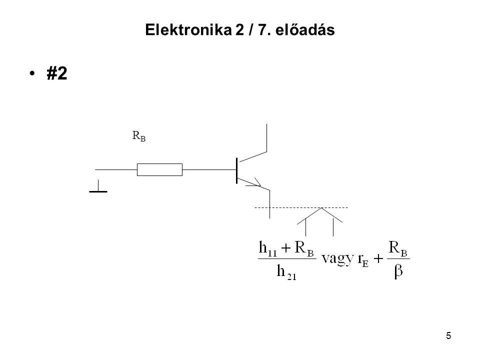 6 Elektronika 2 / 7. előadás #3 RERE