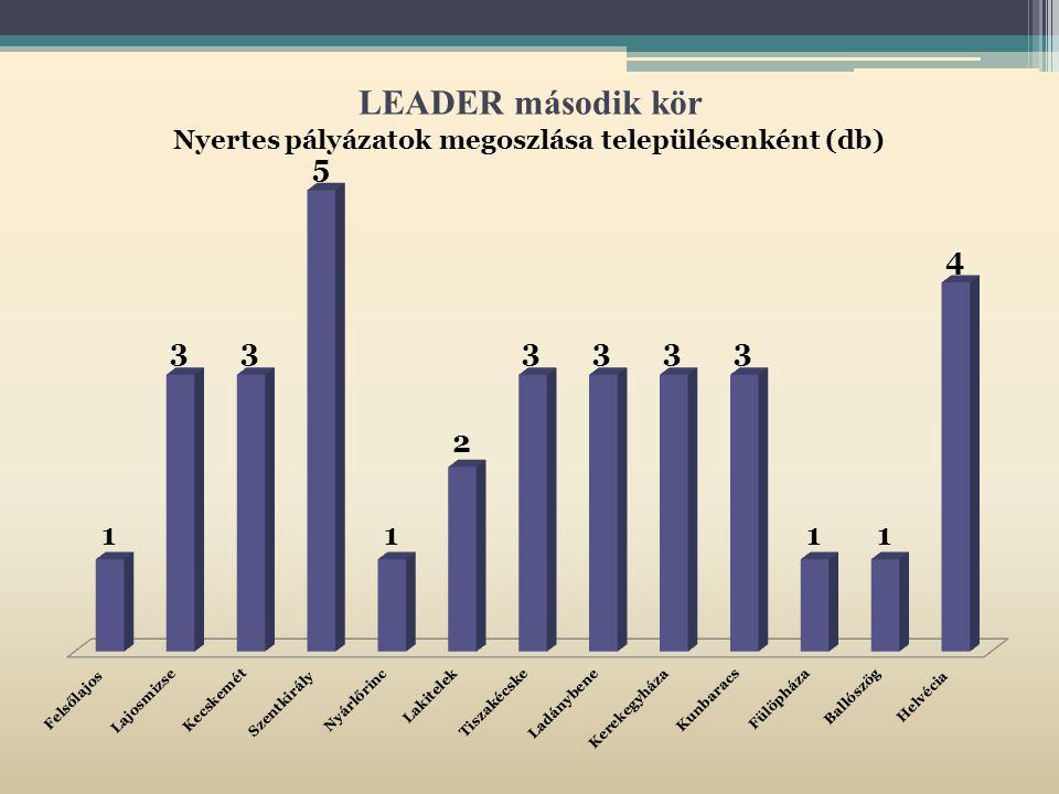 LEADER második kör