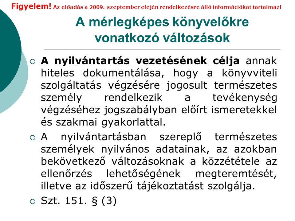 Könyvvezetési szabályok 4.