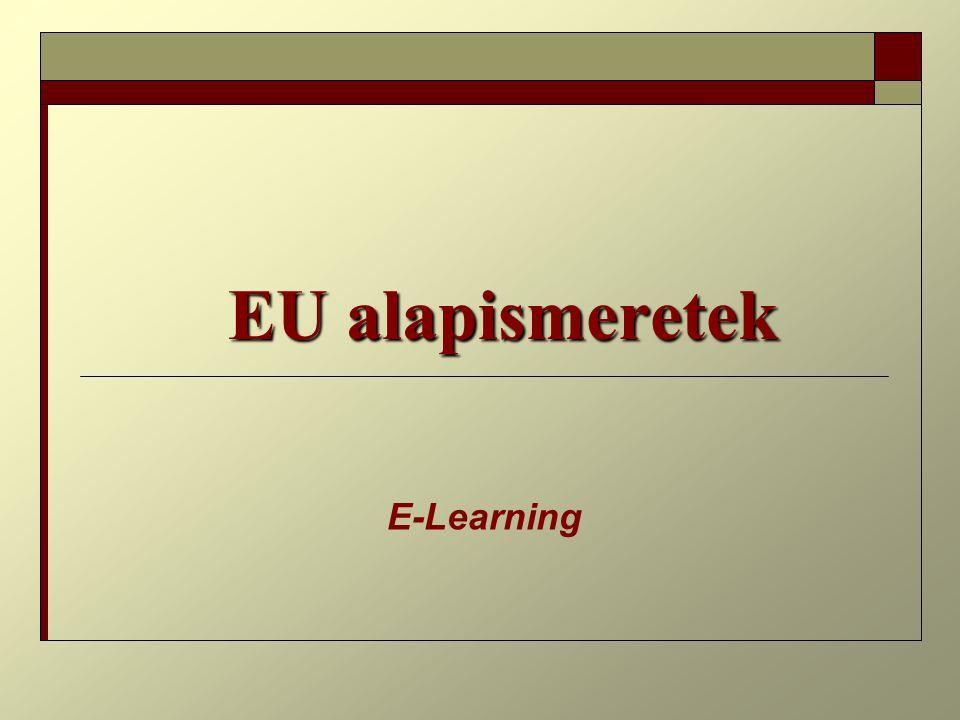 EU alapismeretek E-Learning