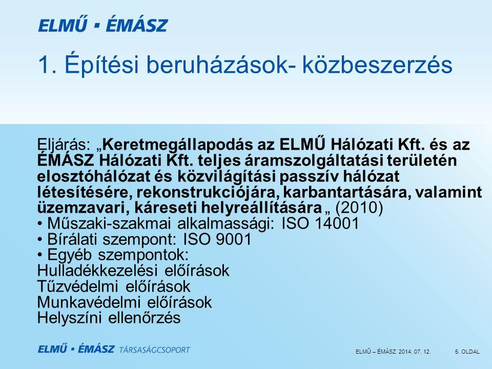 ELMŰ – ÉMÁSZ 2014.07. 12.5. OLDAL 1.