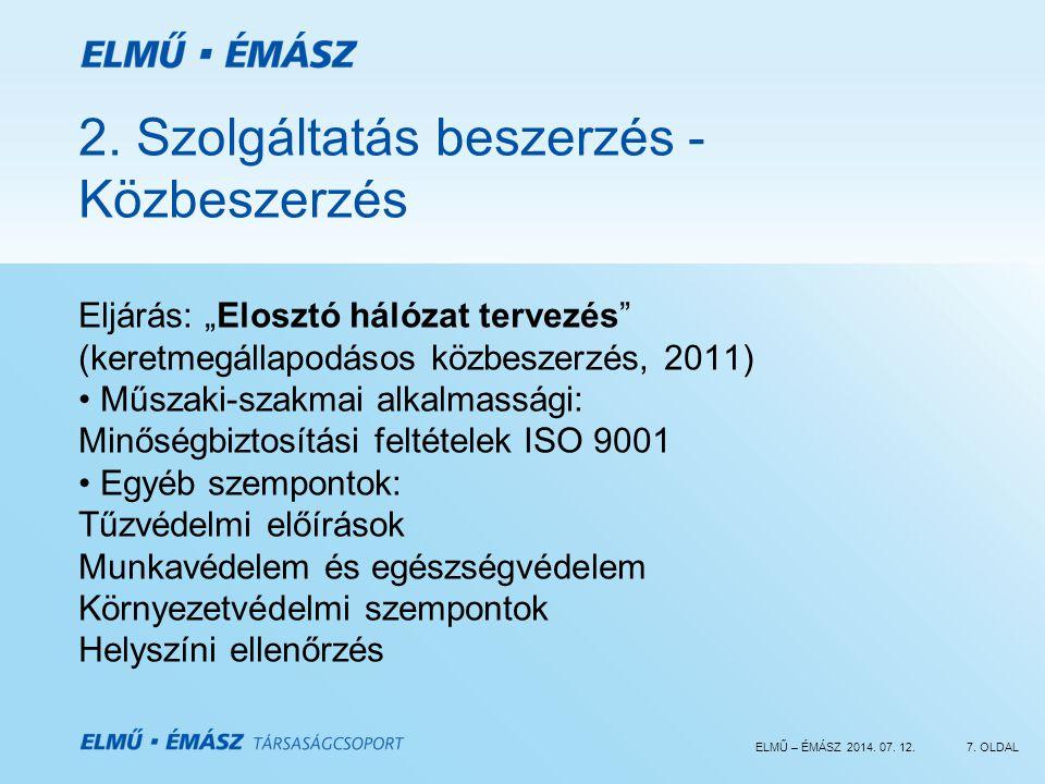 ELMŰ – ÉMÁSZ 2014.07. 12.7. OLDAL 2.