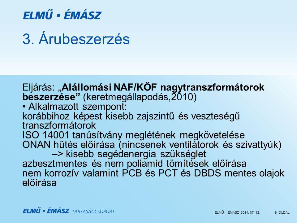 ELMŰ – ÉMÁSZ 2014.07. 12.9. OLDAL 3.
