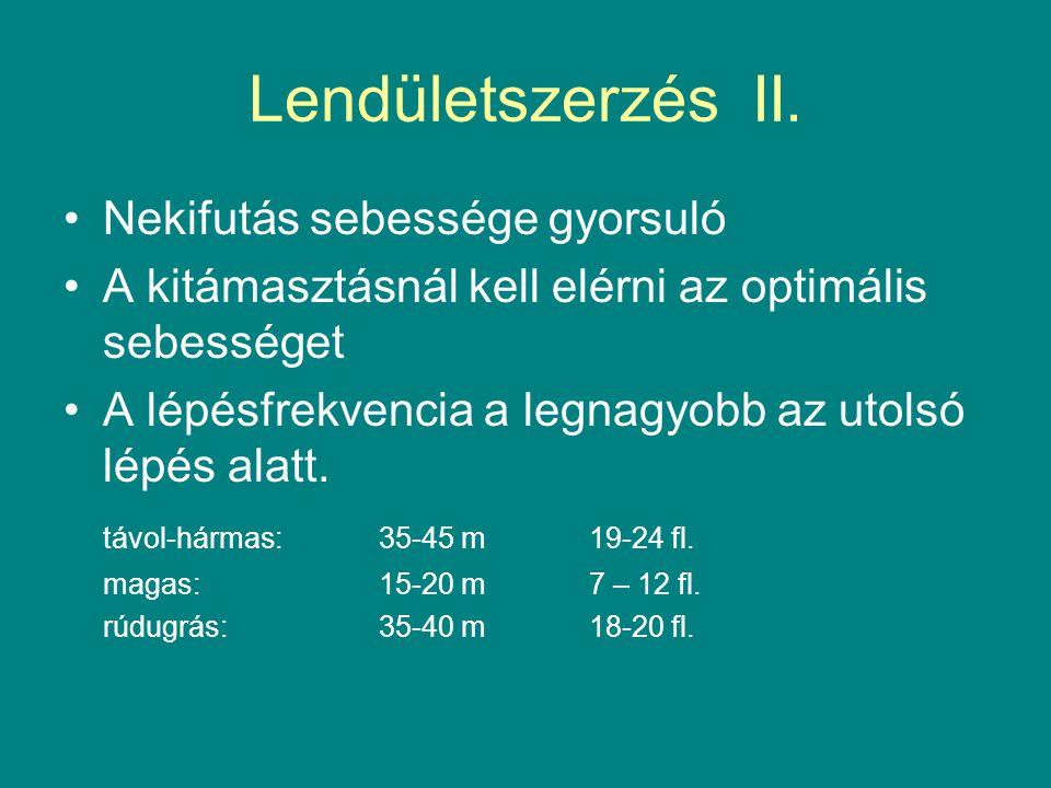 K i e g é s z í t ő V i l á g v e r s e n y e k… S z a b á l y o k… (O k t a t á s…) Az atlétikai versenyszámok technikája UGRÁSOK, 1996 ATLÉTIKA II., 1980.