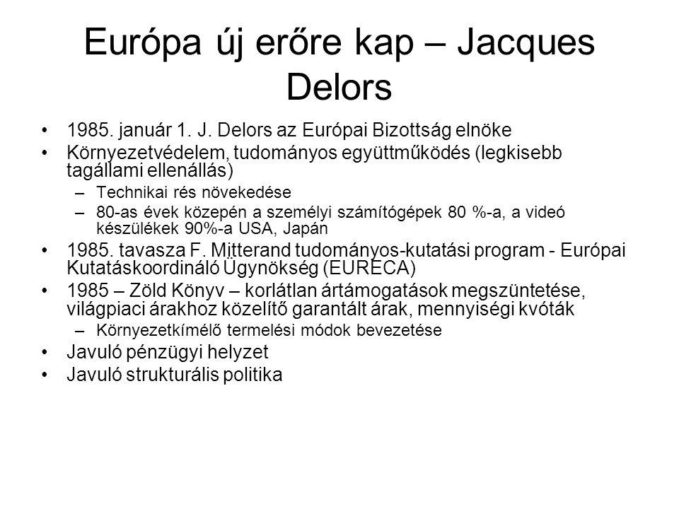 Európa új erőre kap – Jacques Delors 1985.január 1.